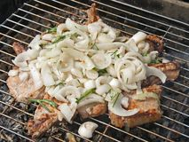 grilled meat 免版税库存图片