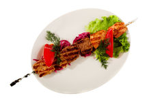 Grilled meat Stock Images