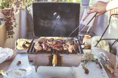 Grilled Meat royalty free stock images