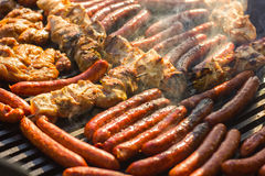 Grilled Meat Barbecue Stock Images