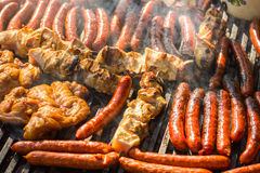 Grilled Meat Barbecue Royalty Free Stock Image