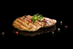 Grilled meat. Royalty Free Stock Images