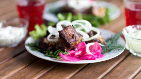 Grilled meat Royalty Free Stock Photo