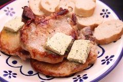 grilled meat pork стоковые фотографии rf