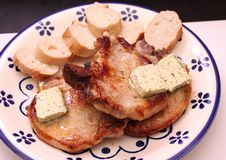 grilled meat pork стоковые изображения