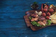 grilled meat pork стоковое фото rf