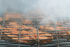 Grilled meat skewers, Stock Photography