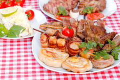 Grilled meat - specialty grilled Royalty Free Stock Photography