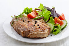 Grilled meat steak Royalty Free Stock Photography