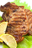Grilled meat steak Stock Image