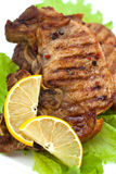 Grilled meat steak Royalty Free Stock Photos