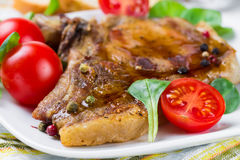 Grilled meat Stock Photography