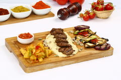 Grilled meatball Royalty Free Stock Photos