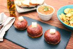 Grilled meatballs Royalty Free Stock Photo