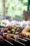 Grilled Meats Royalty Free Stock Image