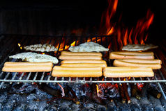 Grilled meats Royalty Free Stock Photography