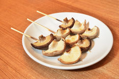 Grilled mushrooms Royalty Free Stock Image