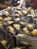 Grilled mussels Royalty Free Stock Photography