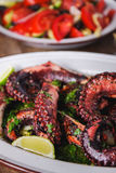 Grilled octopus Stock Photos