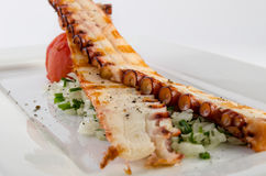 Grilled octopus Royalty Free Stock Images