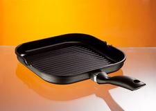 Grilled pan Stock Photo
