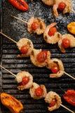 Grilled Parmesan Shrimp Royalty Free Stock Image