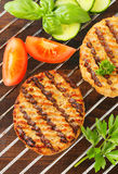 Grilled patties Royalty Free Stock Images