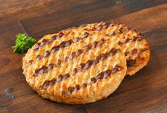 Grilled patties Royalty Free Stock Photography