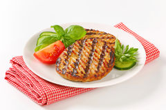 Grilled patties Stock Photos