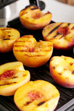 Grilled peach Royalty Free Stock Photo