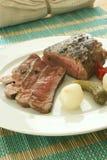 Grilled pepper steak Stock Image