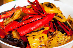 Grilled Peppers Stock Photos