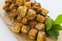 Grilled pineapple Royalty Free Stock Image