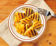 Grilled pineapple Royalty Free Stock Photography