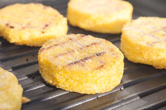 Grilled polenta Royalty Free Stock Photography
