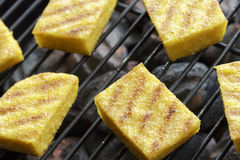 Grilled polenta Royalty Free Stock Images