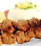 Grilled pork Royalty Free Stock Photos