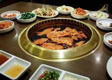 Grilled pork Stock Image