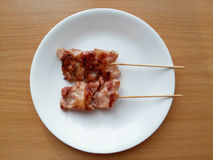 Grilled pork Royalty Free Stock Images