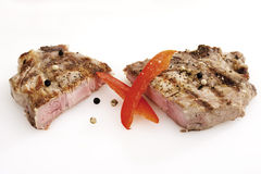Grilled  Pork chop Stock Photography