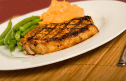 Grilled Pork Chop Royalty Free Stock Photography