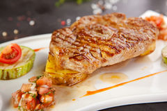 Grilled Pork Chop Stock Photos