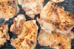 Grilled pork chops Stock Images