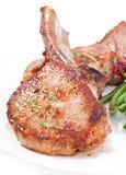 Grilled pork fillet steak Royalty Free Stock Photo