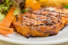 Grilled Pork fillets Stock Photos