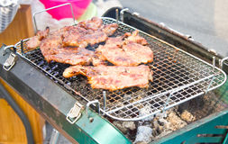 Grilled Pork. Royalty Free Stock Photo