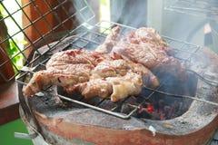 Grilled pork Stock Photos
