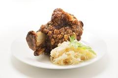 Grilled pork hock Royalty Free Stock Images
