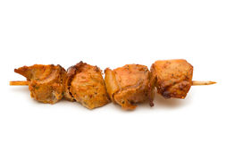 Grilled pork kebabs Royalty Free Stock Image