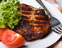 Grilled pork meat Royalty Free Stock Photos
